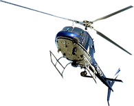 heligraphx blue helicopter