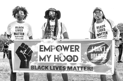 Peaceful Protest with a Purpose Empower My Hood