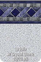 LaJolla vinyl pool color