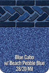 BlueCabo vinyl pool color