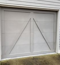 Single garage door