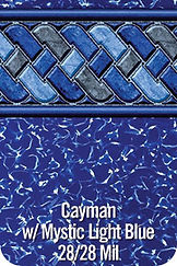 Cayman vinyl pool color