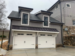 Two car garage home remodeling