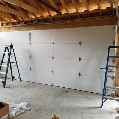 Garage door repair service underway in birmingham AL