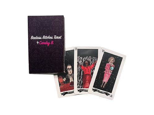 Badass Bitches Tarot Deck by Cardsy B
