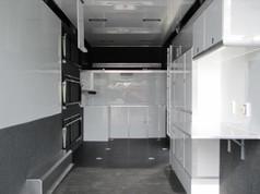 Enclosed Stacker Trailer Interior