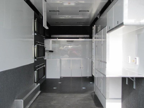 Enclosed Stacker Trailer Interior