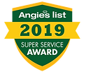 Angies List 2019 Super Service Award JR heating and cooling