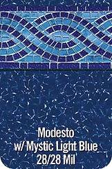 Modesto vinyl pool color
