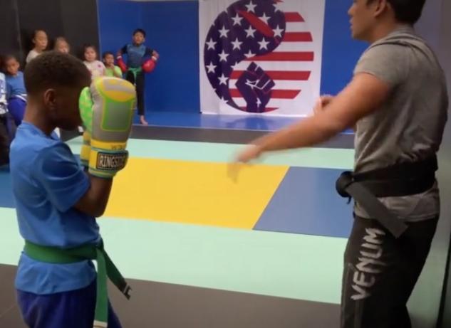 Fort Washington Kids boxing