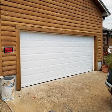 overhead garage door installed in birmingham AL