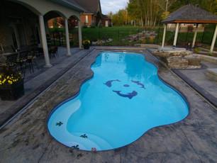 hampton ga Fiberglass pool installation