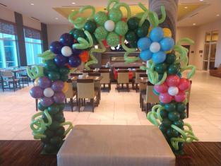Flower Arch - Balloon Decor
