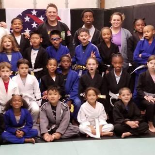 Fort Washington Kids Jiu-jitsu class