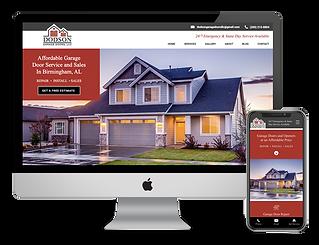 the best contractor website for Dodson Garage Doors
