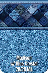 Madison vinyl pool color