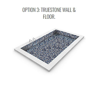 True Stone Vinyl Pool option 3