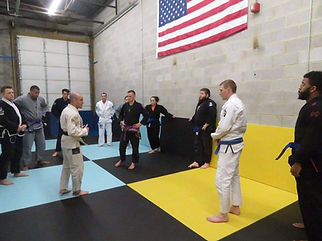 adult Jiu-jitsu lesson