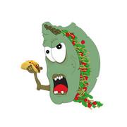 Illustration by Phantom Eye Design - Zombie Taco
