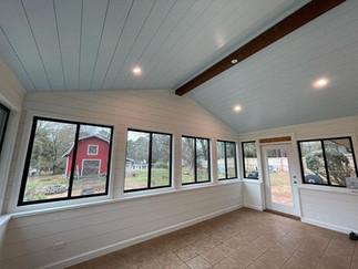 interior view bonus living space home addition remodel