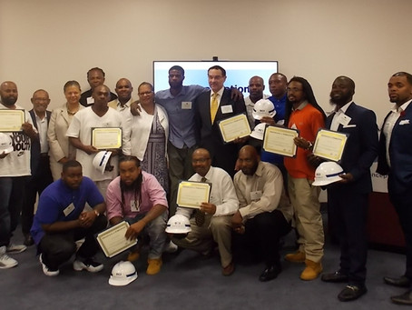 Class #2 of Underserved DC Residents Gets Second Chance with Training and Jobs