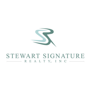 Real Estate Logo Design by Phantom Eye Design - Stewart Signature Realty