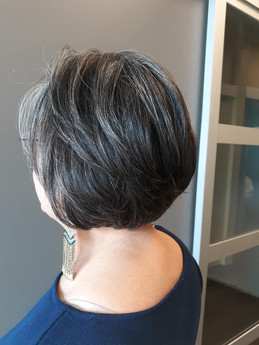 Short Hair Style by Salon de' Sue