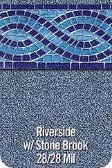 Riverside vinyl pool color
