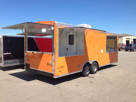 custom trailer build