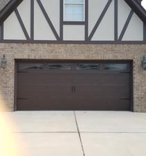 Wide garage door