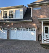 Custom garage doors