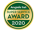 Angies list super service award for cleaning services