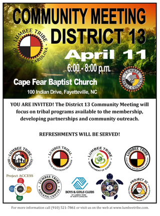 District 13 Community Meeting