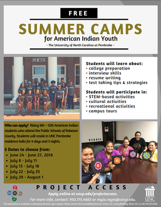 Summer Camps for American Indian Youth