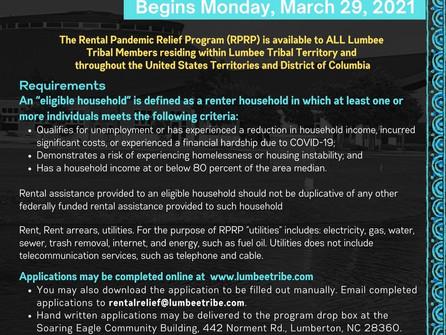 Rental Pandemic Relief Program