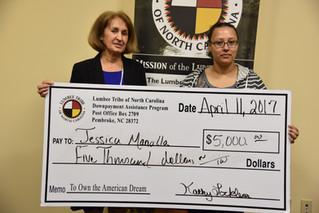 Jessica Mancilla Receives Down Payment Assistance
