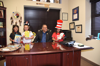 A Week of Reading With Dr. Seuss
