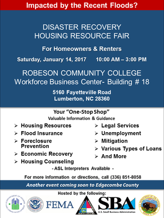 Disaster Recovery Housing Resource Fair