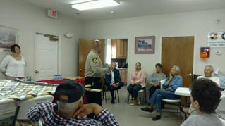 Elders Receive Security Briefing