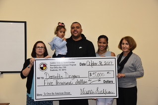 Drigger Family Receives Down Payment Assistance