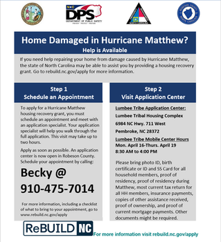 Home Damaged in Hurricane Matthew?