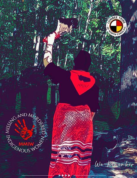 thumbnail_Lumbee Tribe MMIW Poster 2021.
