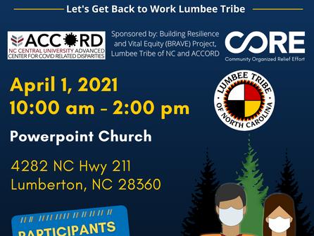 COVID-19 Testing - April 1, 2021