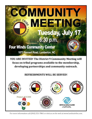 District 9 Community Meeting