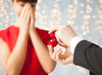 The wedding proposal is where it begins