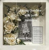 Framed Funeral Tribute