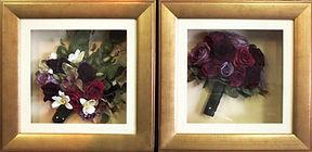 small box frames, 3d art,billericay, essex, heart,art,preservation,bouquet