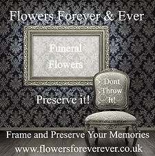 Funeral Floral Tributes Preserved