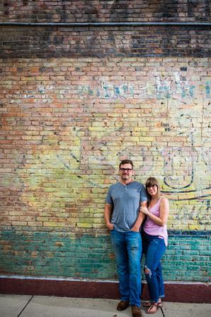 downtown couple photo