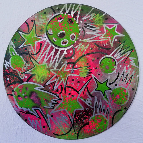 handpainted vinyl dream (12 inch) uv active
